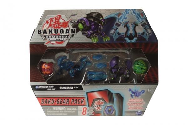 Bakugan: Armored Alliance. Baku-Gear Pack - Nillious Ultra + Baku-Gear, Hydorous Ultra, Pegatrix, Pharol (6056037/20122676)