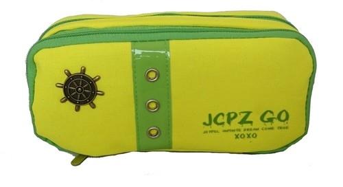 Piórnik szkolny JCPZ GO żółty