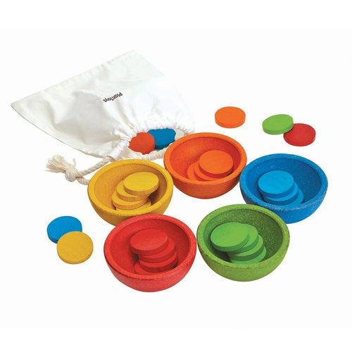 Sortuj i licz kolorowe żetony (PLTO-5360)