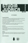 Studia Judaica Nr 2 (34)2014
