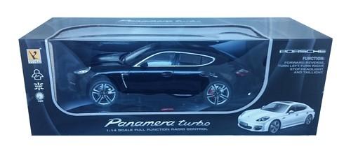Porsche Panamera Turbo zdalnie sterowane skala 1:14 czarne