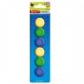 Magnes mix kolorów śr. 29 mm 6szt