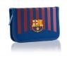 Piórnik pojedynczy bez wyposażenia, 2 klapki, FC-269 FC Barcelona Barca Fan 8
