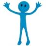 Wesoły Ludek niebieski