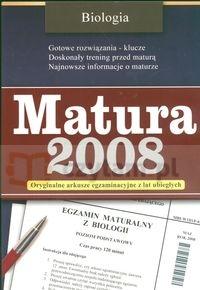 Matura 2008 Biologia