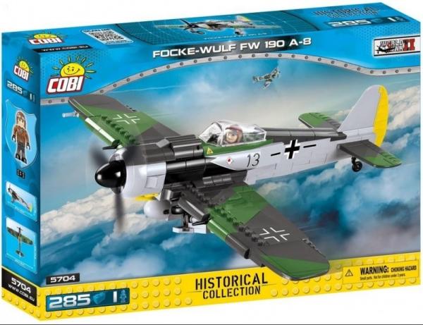 Klocki Small Army Focke Wulf FW 190A-8 (5704)