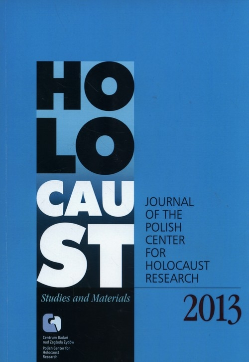 Holocaust Studies and Materials 2013