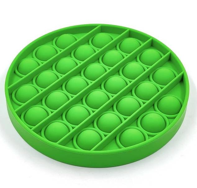 Pop it, Fidget toys, zabawka sensoryczna, antystresowa, gniotek Push Pop Bubble - zielony (1004880)