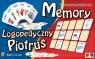 Logopedyczny Piotruś/Memory - Zestaw I, 8 talii kart