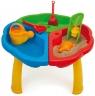 Stolik z zabawkami do piasku i wody (72000)