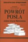 Biblioteczka Opracowań  Powrót posła Juliana Ursyna Niemcewicza Zeszyt