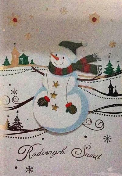 Karnet Boże Narodzenie B6 Premium 15 + koperta