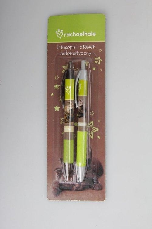Długopis i ołówek automatyczny Kotek