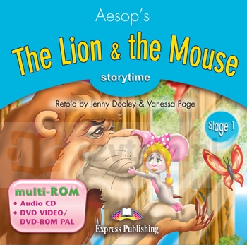 Lion & the Mouse Multi-Rom Aesop, Jenny Dooley, Vanessa Page