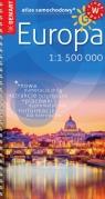 Europa atlas samochodowy mały 1:1 500 000