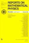Reports on Mathematical Physics 62/3 2008