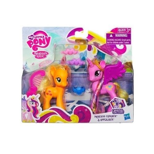My Little Pony Księżniczka Cadance i Applejack
