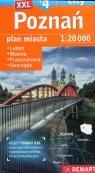 Poznań Plus 4 Plan miasta 1:20 000