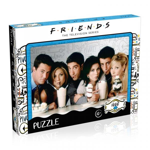 Puzzle 1000 elementów Przyjaciele Milkshake (39604)