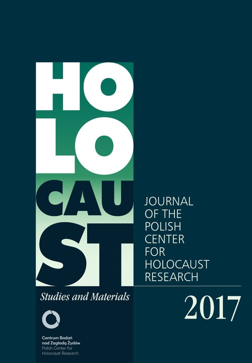 Holocaust Studies and Materials 2017