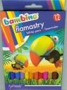 Flamastry BAMBINO, 12 kolorów, licencja BAMBINO