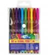 Zestaw długopisów żelowych 10 kolorów (80160)