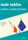 Małe tablice Wiedza o społeczeństwie gimnazjum, technikum, liceum Sikorski Krzysztof
