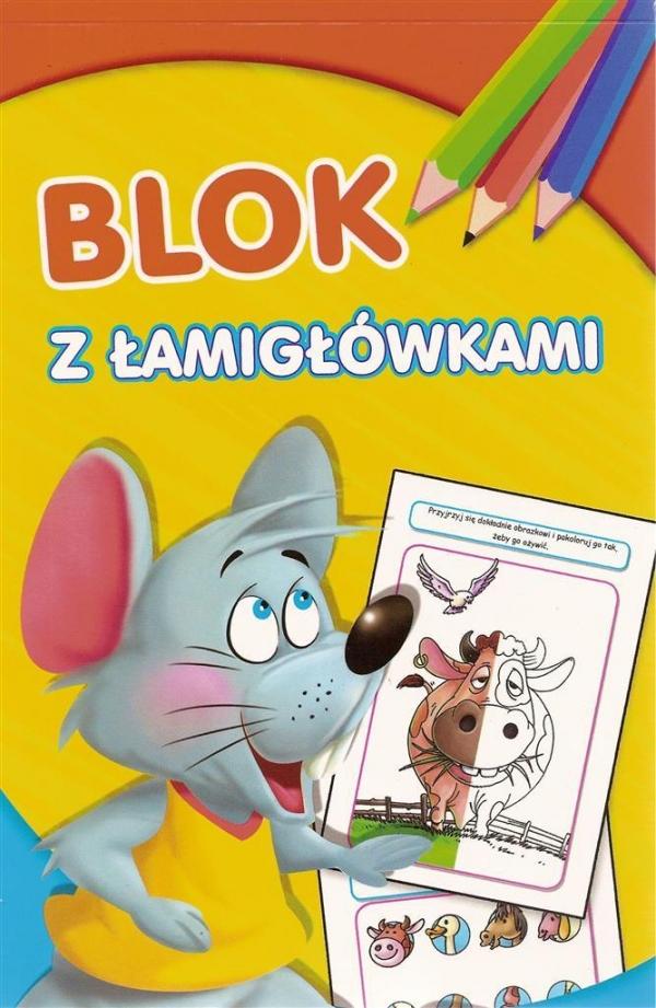 Blok z łamigłówkami Mysz