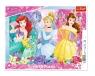 Puzzle ramkowe 25: Magiczne Księżniczki (31360)