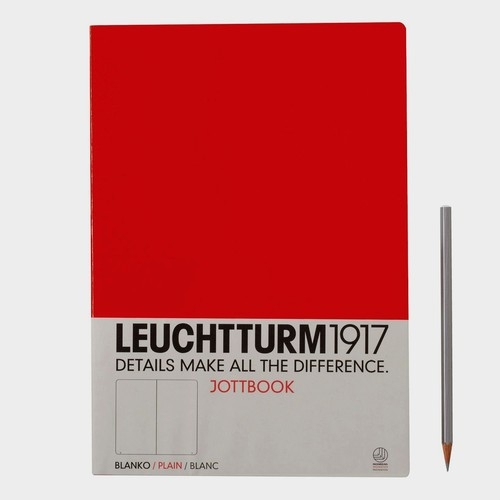 Notatnik A4 gładki czerwony