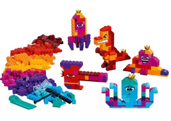 Lego Movie: Pudełko konstruktora Królowej Wisimi! (70825)