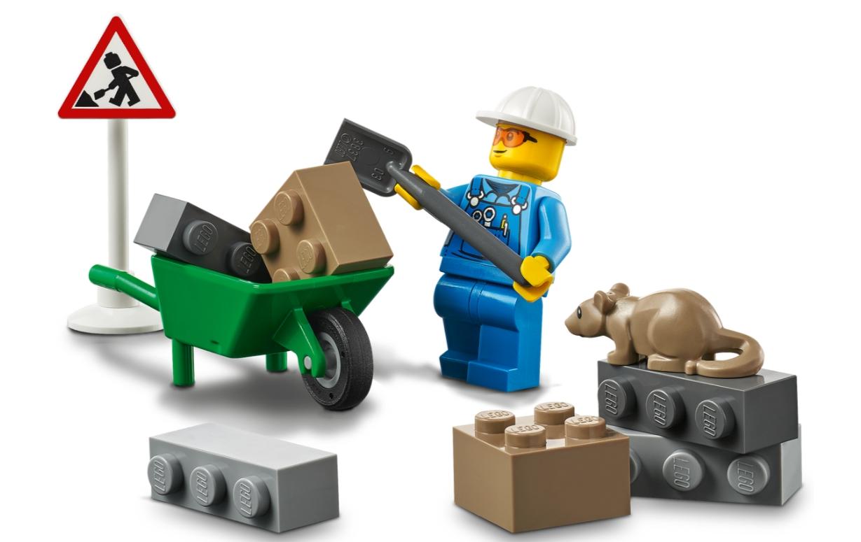Lego City: Pojazd do robót drogowych (60284)