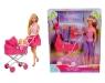 Steffi lalka z głębokim wózkiem (105738060)