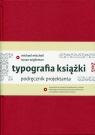 Typografia książki Podręcznik projektanta