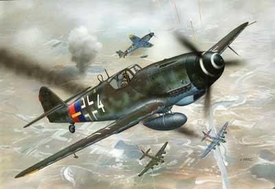Samolot Messerschmitt Bf 109 G-10 (04160)
