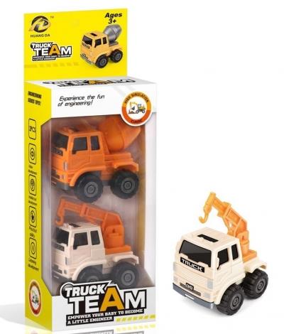 Pojazd budowlany - 2pak (111605)