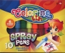 Flamastry dmuchane Colorino 10 kolorów