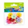 Ozdoby aplikacje kwiaty i motyle