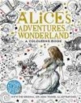 The Macmillan Alice Colouring Book Lewis Carroll