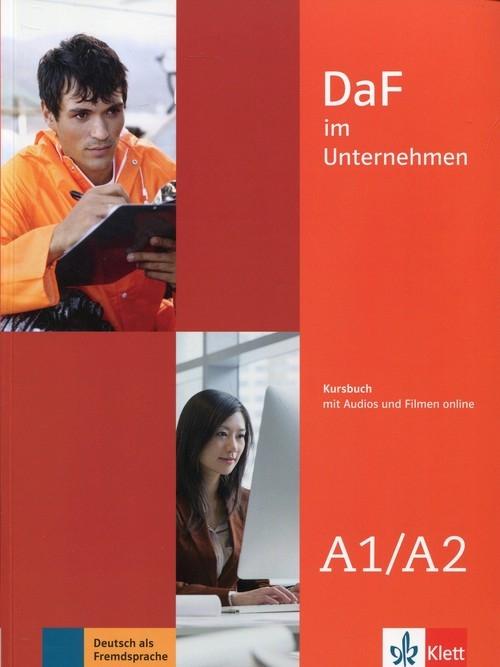 Daf im Unternehmen A1-A2 Kursbuch + online