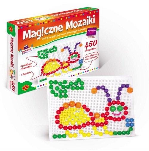 Magiczne mozaiki, 450 elementów (0660)