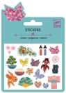 Naklejki brokatowe z japońskimi motywami (DJ09760)