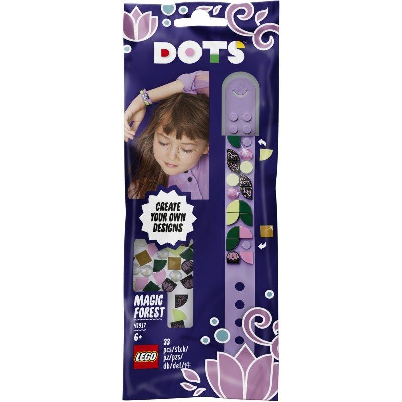 Lego DOTS: Bransoletka z magicznym lasem (41917)