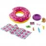 Barbie: Zestaw ogrodowy - akcesoria basenowe