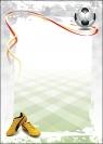 Dyplom Galeria Papieru football A4