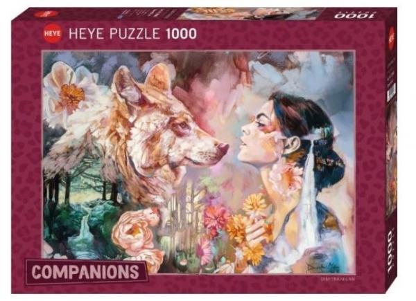 Puzzle 1000 elementów Wspólna rzeka, Dimitra Milan (29960)