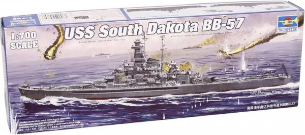 Model do sklejania USS South Dakota BB-57 (05760)