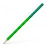 Ołówek Grip 2001 Two Tone Faber-Castell - zielony (517060 FC)