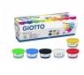 Farby do malowania palcami Giotto, 6 kolorów x 100ml (534100)