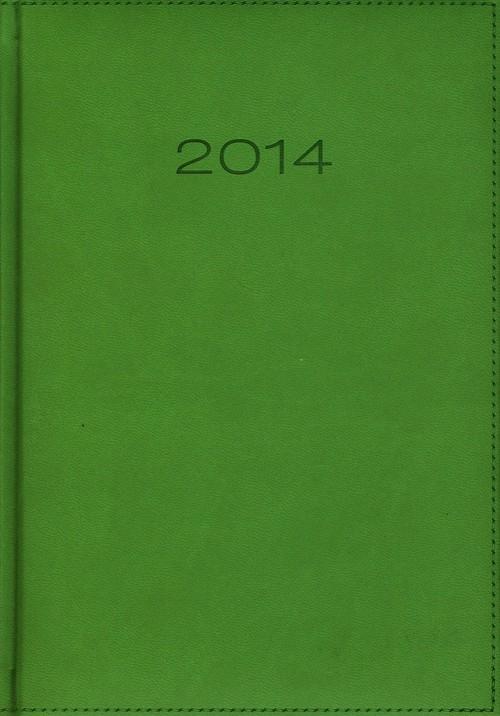 Kalendarz 2014 A5 21D Jasnozielony dzienny